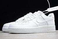 "Кожаные кроссовки Nike Air Force 1 '07 Low ""White"" (36-46), фото 5"