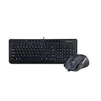 Клавиатура + Мышь Delux DLD-6220OUB (Black)