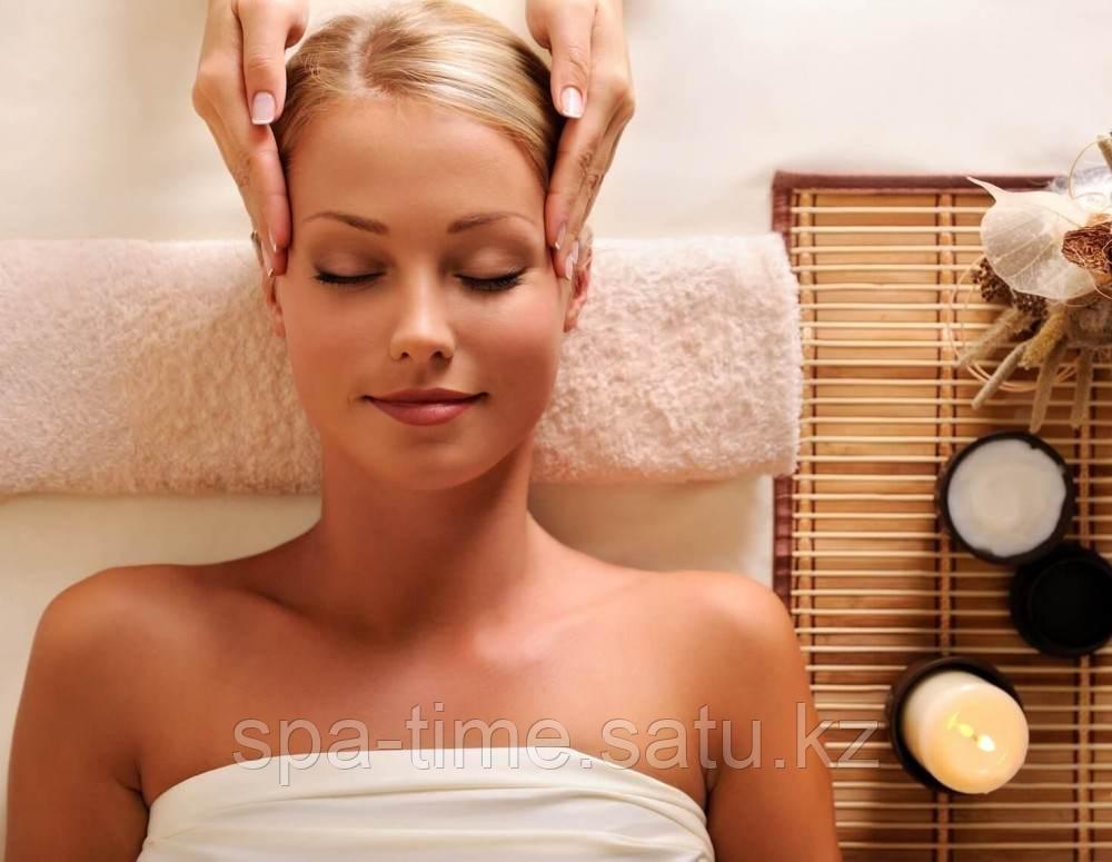 Экспресс-антистресс массаж головы