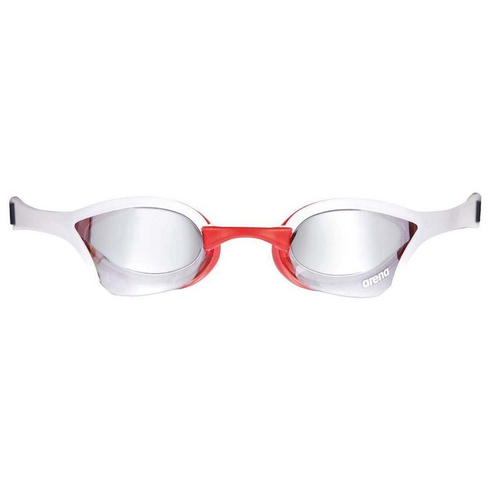 Очки для плавания Arena Cobra Ultra Mirror white/red