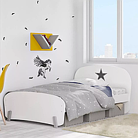 Детская подростковая кровать Polini kids  Mirum 1910 белый