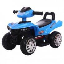 Толокар квадроцикл Quadro MotoSpeed, синий