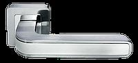 Дверная ручка Morelli DIY MH-46 SC/CP-S55 Цвет - мат. хром/полированный хром