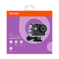 Экшн видеокамера ACME VR04 Compact HD 5 MP угол обзора 140, фото 1