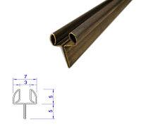 Латунный Y - образный профиль (мебельный)