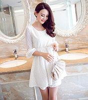 Белое платье размер S, фото 1