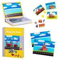 Magnetic Book Развивающая игра Magnetic Book Юный инженер