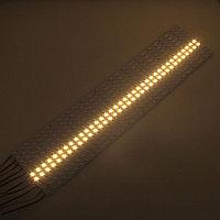 Светодиодная алюминиевая полоса SMD 7020 теплая