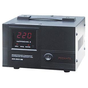 Стабилизатор напряжения РЕСАНТА АСН-500/1-ЭМ  0,5 кВт Однофазный электромеханический
