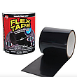 Водонепроницаемая изоляционная лента Flex Tape, цвет черный, фото 4