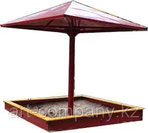Песочница для детей с крышей