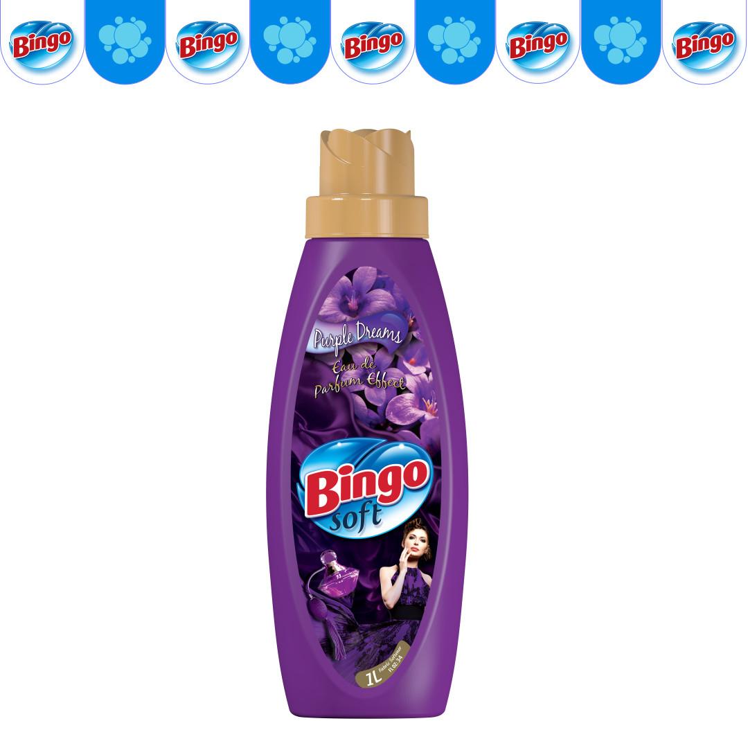 Кондиционер для белья bingo purple dreams
