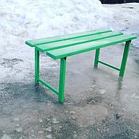 Скамейка двухместная
