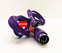 Шнур с контактами для аппарата миостимуляции, фото 1
