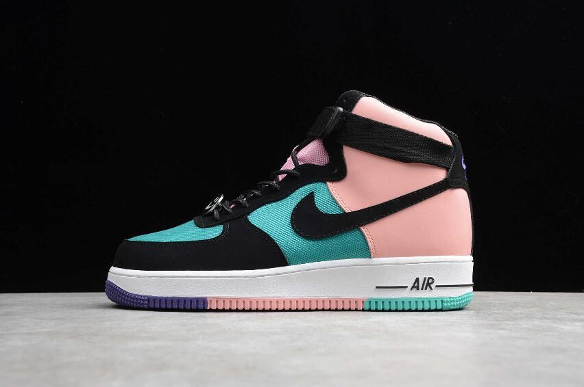 "Кожаные кроссовки Nike Air Force 1 High '07 LV8 ""Have a Nike Day"" (36-45)"