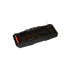 CANYON 3in1 Gaming set, Keyboard with lighting effect(118 keys), Mouse with logo RGB(DPI 800/1200/24