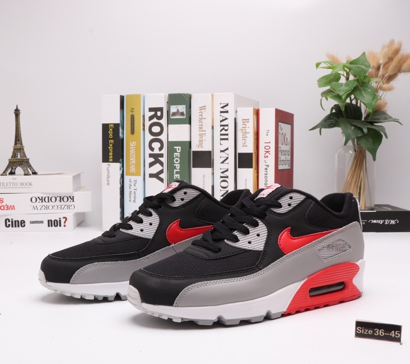 "Кроссовки Nike Air Max 90 ""BLack\Gray"" (36-45)"