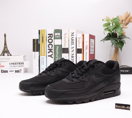 "Кроссовки Nike Air Max 90 ""All BLack"" (36-45), фото 2"
