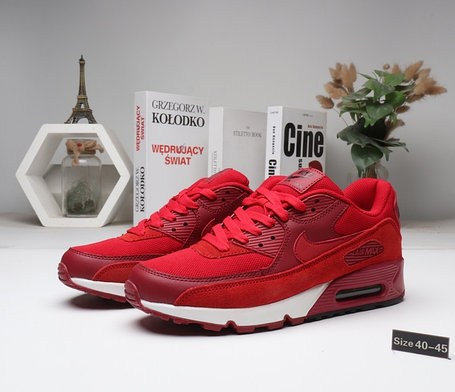 "Кроссовки Nike Air Max 90 ""Red\White"" (40-45), фото 2"