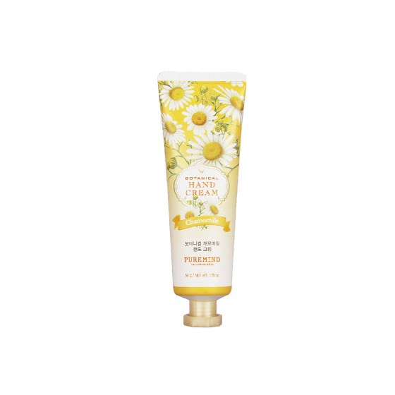Puremind Botanical Chamomile Hand Cream  Крем для рук с экстрактом Ромашки 50 гр.