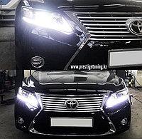 Передний бампер на Camry V40/45 и оптика с в стиле Lexus, фото 1