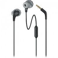 Wired earphone with IPX5 sweatproof rating (Black)