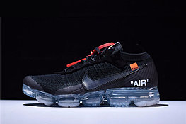 """Кроссовки Off-White x Nike Air VaporMax Flyknit """"Black/Clear"""" (40-45)"""
