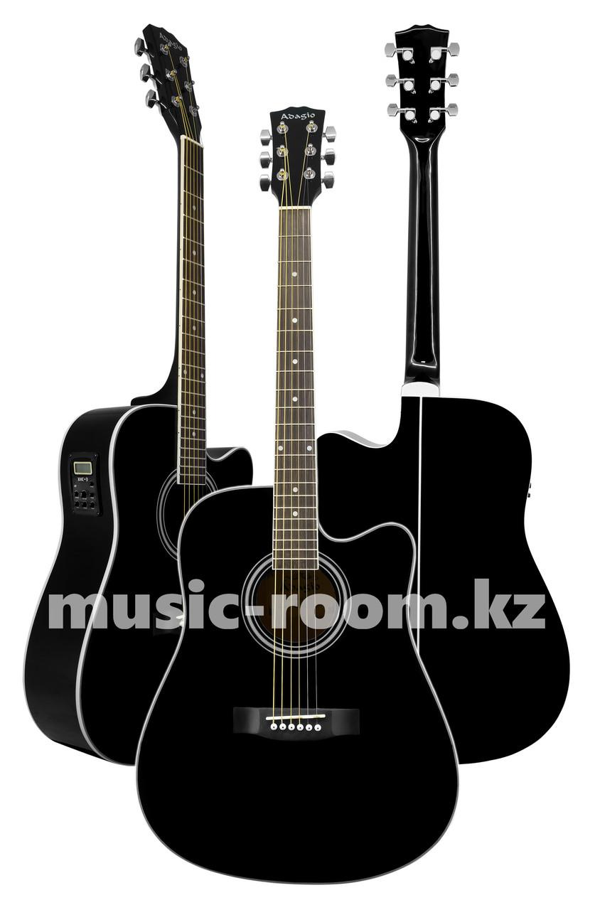 Электроакустическая гитара Adagio MDF4171CEBK