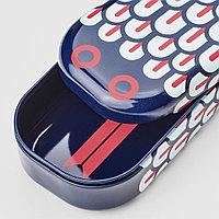 ИЛЛБАТТИНГ Футляр для ручек, разноцветный, змея металлический, синий, красный, белый, разноцветный