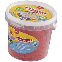Набор для лепки, Домашняя песочница, Красный песок, 1 кг.