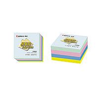 Стикеры бумажные самоклеющиеся Comix D5005 76х76 мм. 400 л. в плёнке по 4 шт. в ассортименте