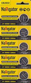 Элемент питания NBT-CR2032-BP5 94 765 Navigator