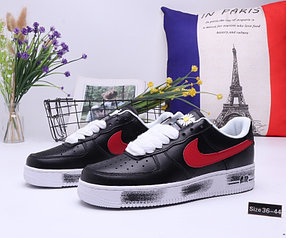"Кроссовки Nike Air Force 1 ""Black and Red"" (36-44)"