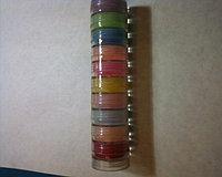 Акриловая пудра цветная в наборе 10 цветов