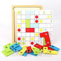 Деревянная игрушка - Тетрис (с 30 карточками), фото 2