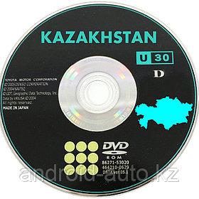 Новые за 2020 DVD Карты навигации по КАЗАХСТАНУ и Киргизии для LEXUS GS300 S160 S161 c 1998-2003годы выпуска