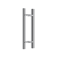 Ручка DG-P-1 32x450 | FGD-257 SUS304/SSS | Матовая