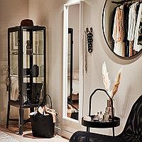 ЛИНДБЮН Зеркало, черный, черный 80 см