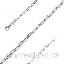 Серебряный браслет с топазом  TEOSA 18,5 16,5