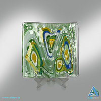 Стеклянная тарелка (Сувенир) -арт. AF 0024 001, фото 1