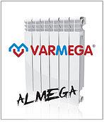 Алюминевые радиаторы Almega (Италия) 350/80 гарантия 10 лет