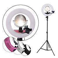 LED Лампа для визажиста кольцевая CM1801 Ø36, напольная (в ассорт.) №88327(2)