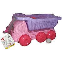 Машинка с садовыми инструментами, для песочницы.