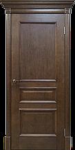 Межкомнатная шпонированная дверь Вильма дуб тон 44;
