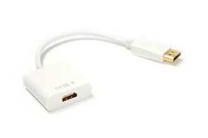 Видeo кабель PowerPlant DisplayPort - HDMI, 0.15m, 1.4V