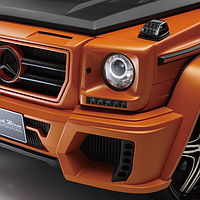 Mercedes Benz G-Class W463 Made in Japan.