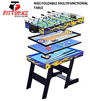 Игровой стол 4в1 FOLDABLE MULTIFUNCTIONAL TABLE(теннис,боулинг,футбол,бильярд)