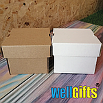 Подарочная картонная упаковка 20х20х10 см, фото 3