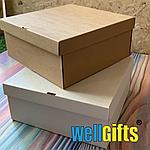 Подарочная картонная упаковка 15х15х10 см, фото 2