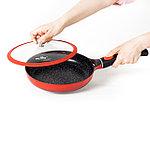 Сковорода с крышкой Nice Cooker HELIOS Series 24х5,1 см 1,7 л, фото 4